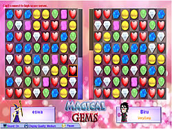 Magical Gems game