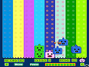 Colour Robots game