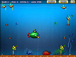 Green Submarine game