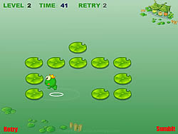 Puzzle Frog game