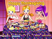 Juega al juego gratis Decorate Thanksgiving Dinner