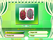 Juega al juego gratis Know your fruit