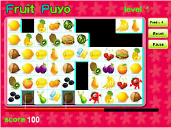 Fruit Puyo game