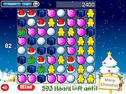 Christmas Match 3 game