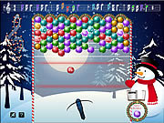 Christmas BubbleJam game