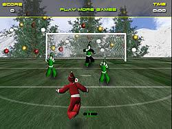 Santa's Footy Challenge game