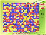 Blocky 500 game