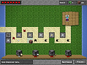 Juega al juego gratis Minecraft Tower Defense