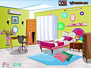 Juega al juego gratis Bed Room Decor