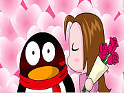 Watch free video QQ Penguin: Rose