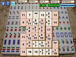 Mahjong Math game