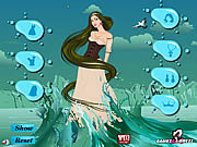 Water Fantasy Girl Dress Up game