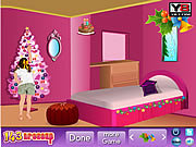 Juega al juego gratis Christmas Bedroom Decor