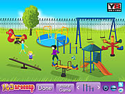 Kids Playground Decor game