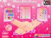 Juega al juego gratis Winter Nails Design