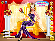 Fabulous Queen Dress Up game