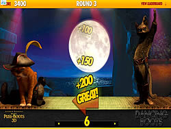 Puss in Boots - Dancing Boots game