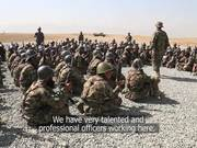 Watch free video Afghan Army learns from the Battlefield