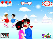 Christmas Love Kiss game