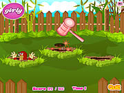 Whack a Mole Game لعبة