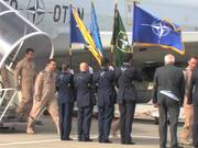 Watch free video Last AWACS return home from Afghanistan