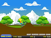 Juega al juego gratis Bart Simpson Bicycle Game