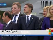 Watch free video Wales Summit Air Power Flypast