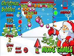 Christmas Bubbles 2011 game