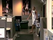 Watch free video Dallas Mavericks Parodies Geico with Dirk Nowitzki