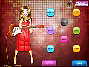 Disco Girl Dress Up Game game