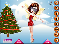 Christmas Fairy Dress Up Game game