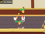 Juega al juego gratis Chicken Jockey 2 - Clucktible Card Racers