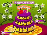 Funny Cake decor game