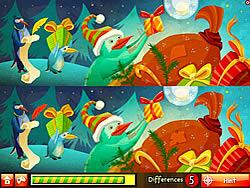 Santa's Penguins game