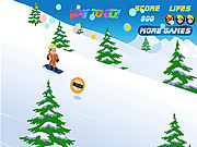 Juega al juego gratis Naruto Snowboarding