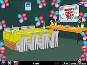 Juega al juego gratis New Year 2012 Escape