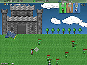 Medieval Robot Defense game