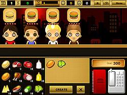 Burger Bar Game game