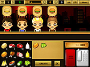 Juega al juego gratis Burger Bar Game