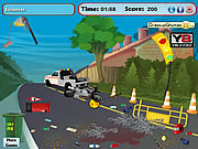 Road Accident Cleaning game