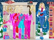 Barbie Winter game