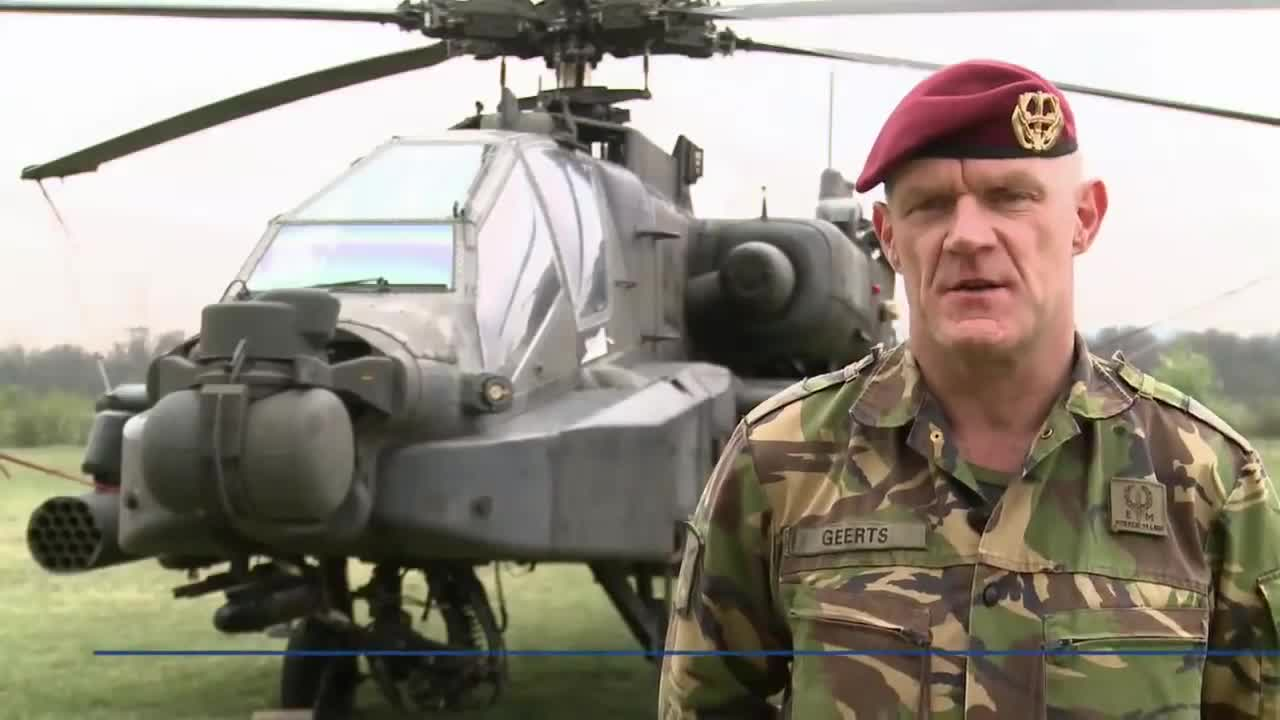 Watch free video Dutch forces train with US Apaches and Black Hawks