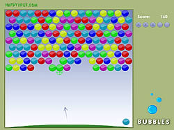 Happy Bubbles game