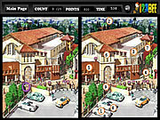 Spot The 25 Differences game