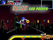 Juega al juego gratis Sonic Skate Glider