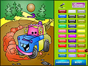Kids Coloring Car's game