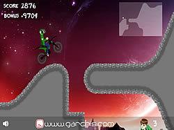 Ben 10 Speed Ride game