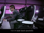 Watch free video Virgin America Commercial: Safety Video