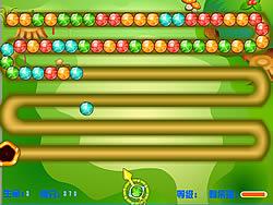 Colorful Zuma game