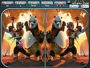 Kung Fu Panda 2 - Spot the Difference game